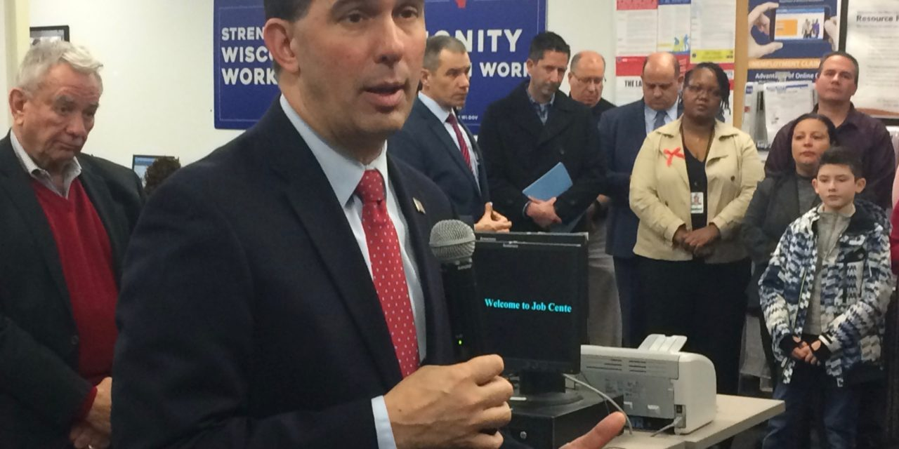 Walker considering partial vetoes as he reviews healthcare oversight bills