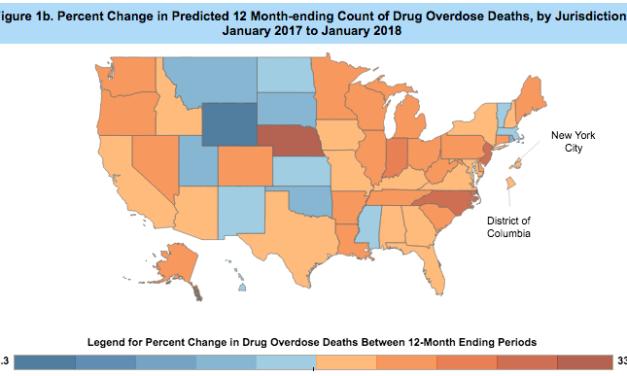 Drug overdoses up in Wisconsin