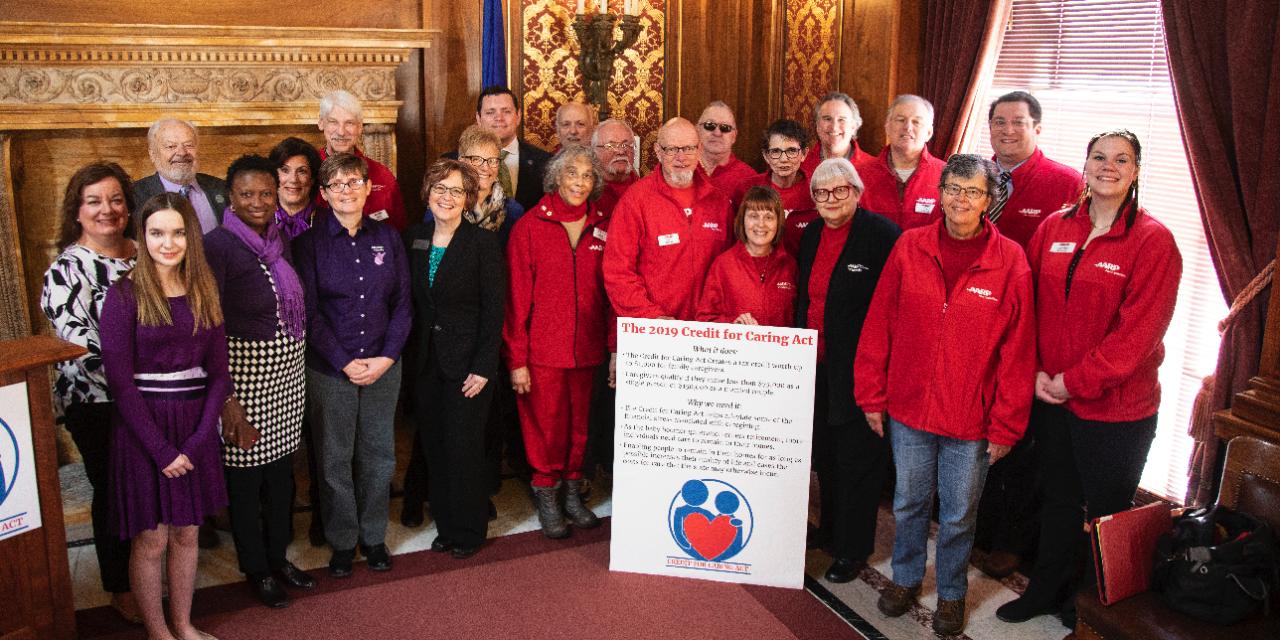 Bipartisan coalition re-introduces caregiver tax credit