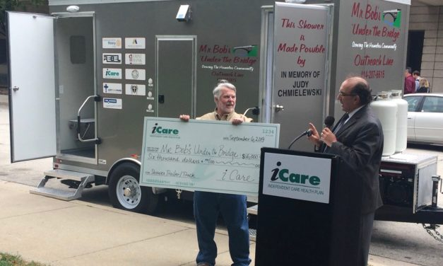 iCare, Milwaukee doctors support shower trailer