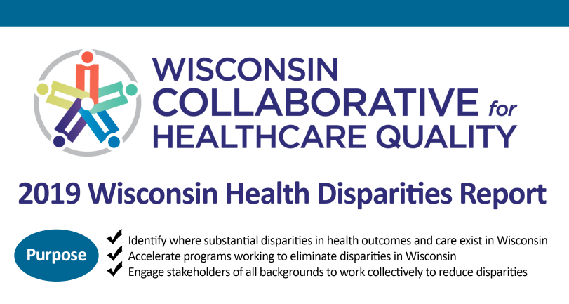 Report finds substantial health disparities in Wisconsin