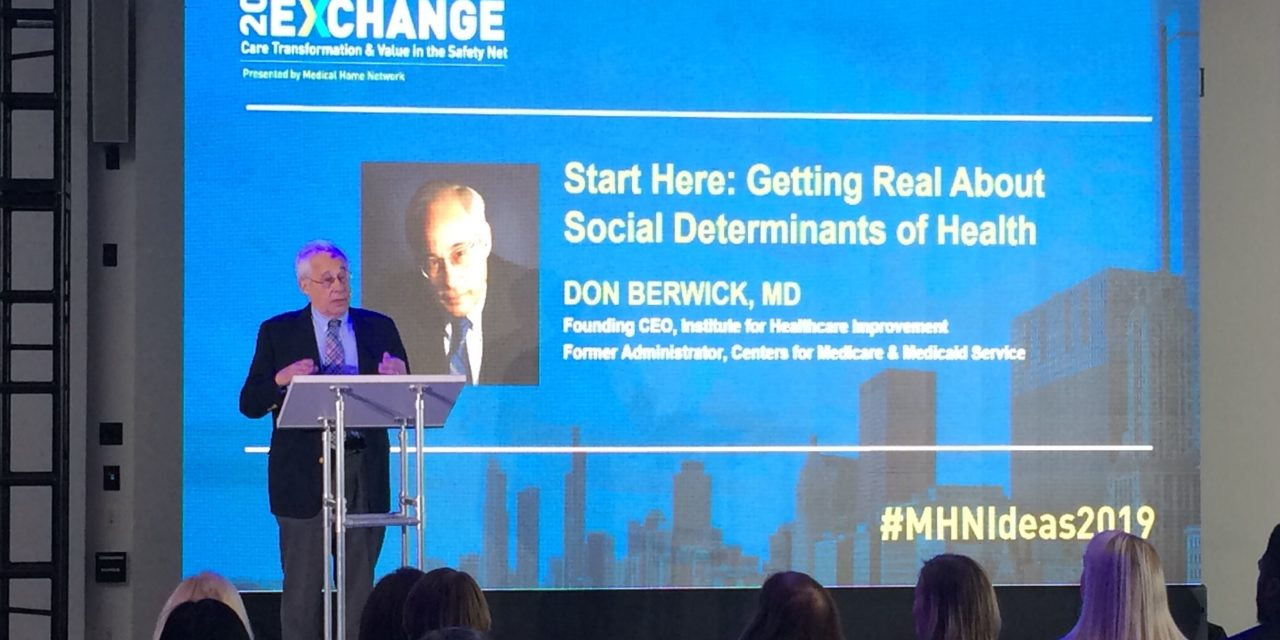 Berwick talks Medicare for All, social determinants and cutting waste