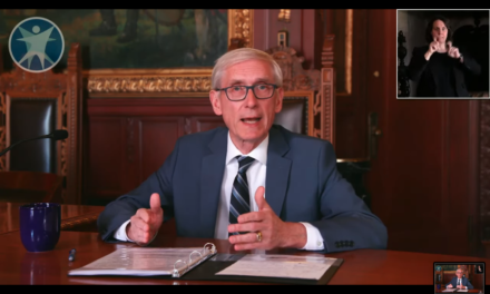 Appeals court blocks Evers' capacity limits