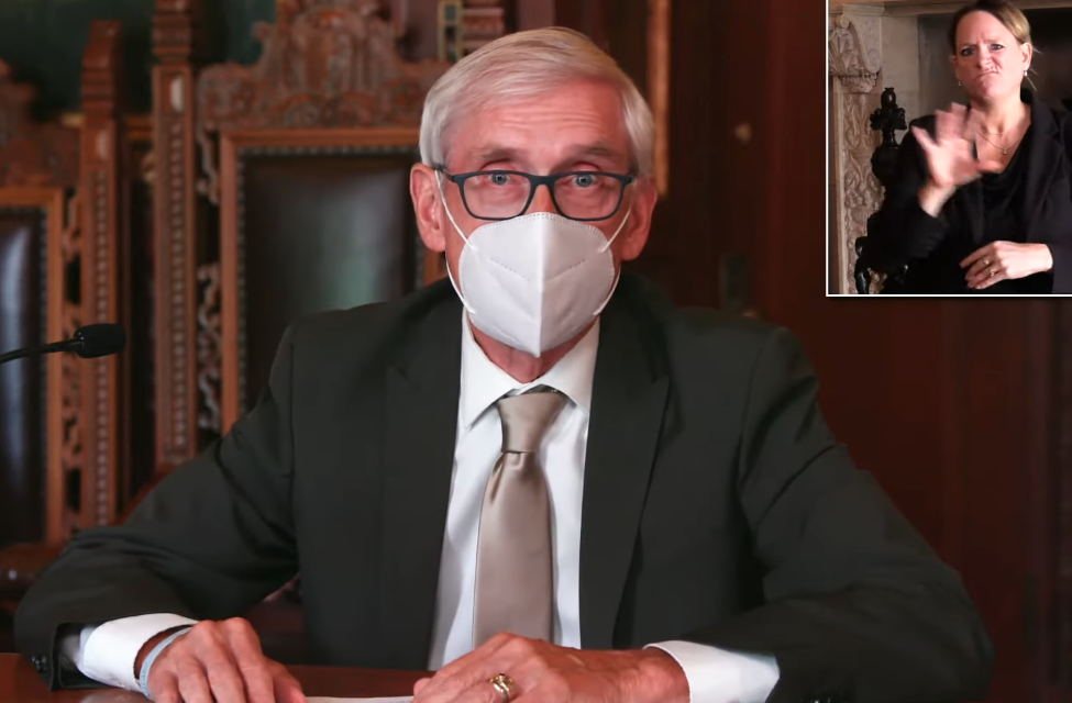 Evers issues indoor mask mandate