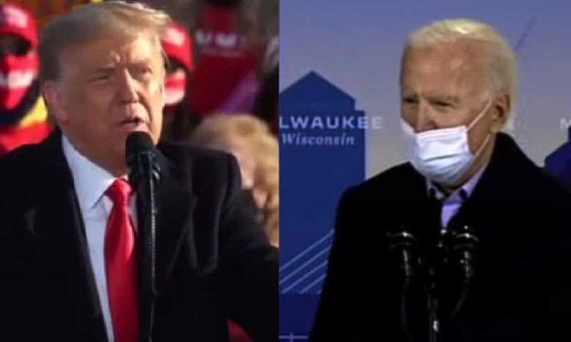 Biden narrowly leads Trump in Wisconsin